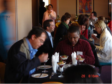 SA users meeting lunch