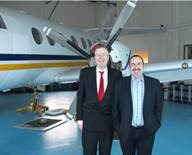 John Kleeman and David Lewis at University of Glamorgan