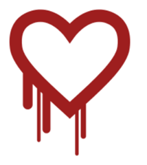 Heartbleet logo from heartbleet.com