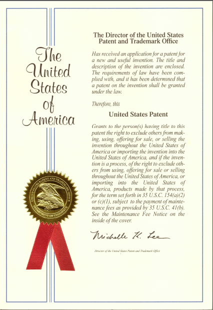 questionmark secure patent granted