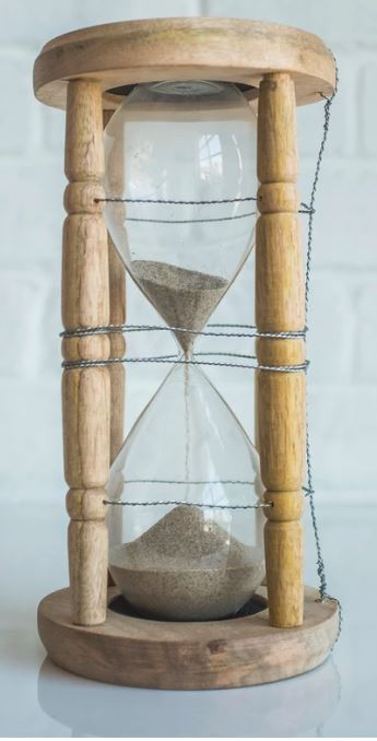 Picture of a sand timer